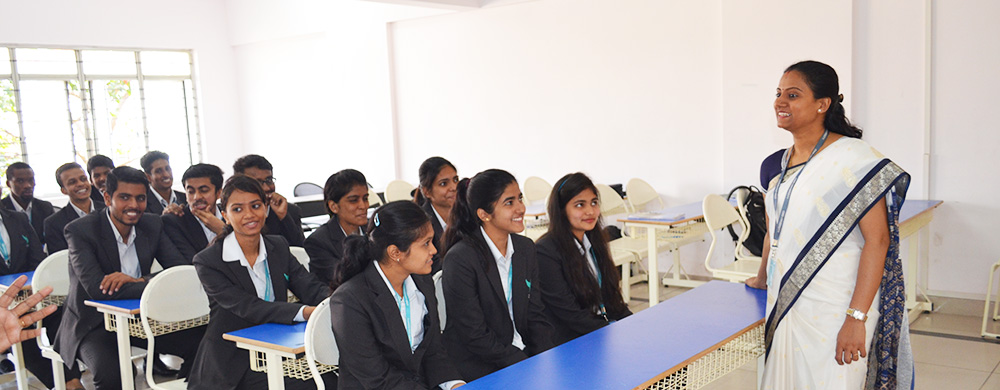Students in Classat CMR University