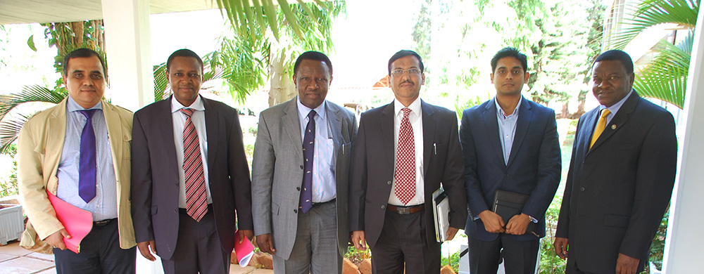 Mzumbe with CMR University team