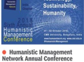 Humanistic management Conference at CMR University