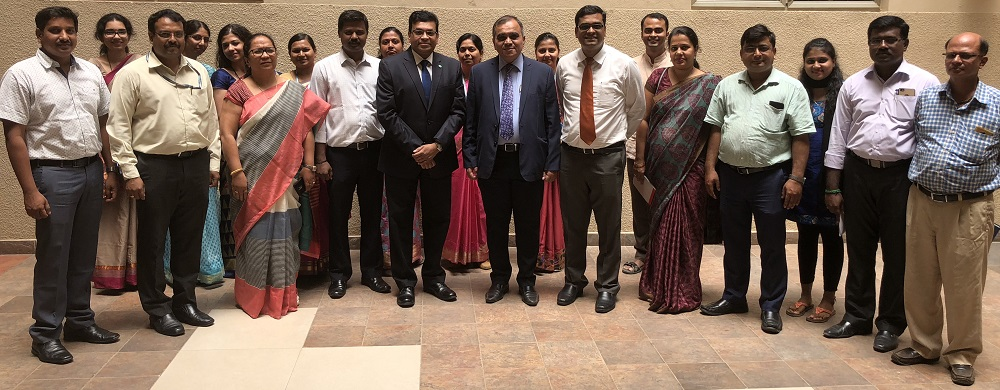 Dr Avinandan Mukherjee with CMR Team