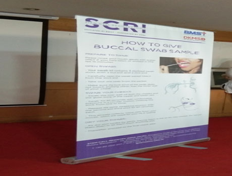 Stem Cell Registry Drive at CMR University