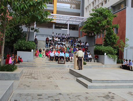 Independence Day Celebration at CMR University, Main Campus