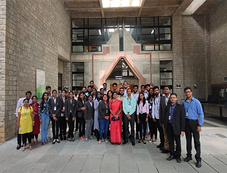 CMR University Students visit IIM, Bangalore