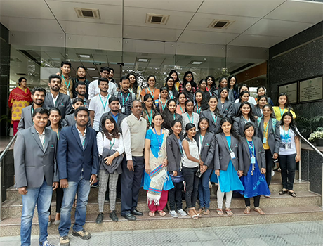 CMRU Students Institutional Visit to NABARD, Bangalore