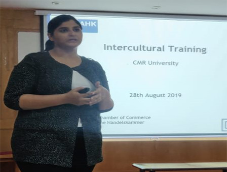Guest lecturer speech on Intercultural training at CMRU
