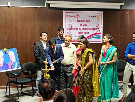 Installation Ceremony of the Rotaract Club at CMR University