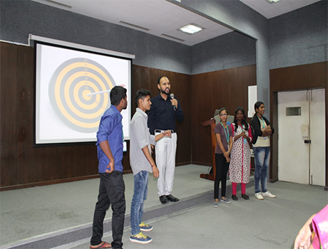 Seminar on Career Goals at CMR University