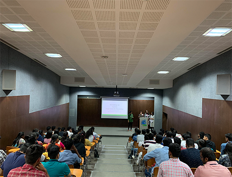 Suicide Awareness & Prevention workshop at CMR University