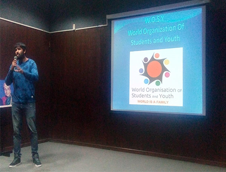 World Organisation for Students and Youth (WOSY) Program at CMRU Campus
