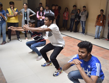 Fitness Camp organized by SOEM at CMR University