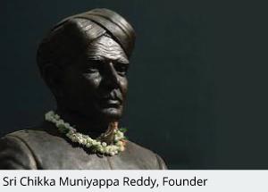 CMR University Founder - Sri Chikka Muniyappa Reddy