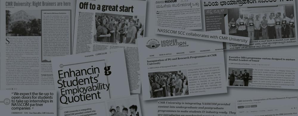 CMR University media