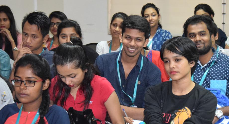 CMR University Students at Shayan pal