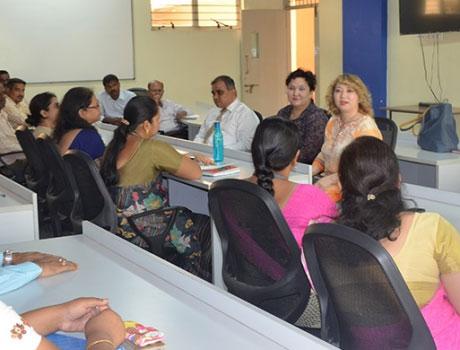 Almaty Management University Scholars visit at CMR University