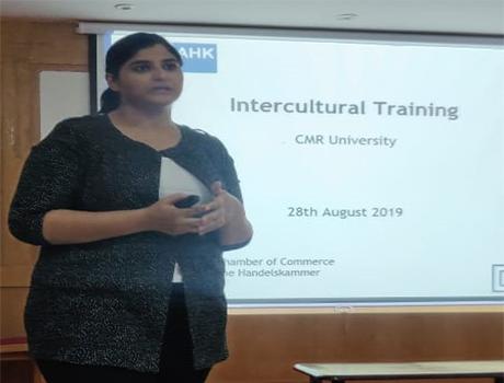 Guest lecturer speech on Intercultural training at CMRU